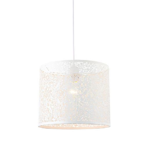 Matt ivory paint Pendant Light 61611 by Endon